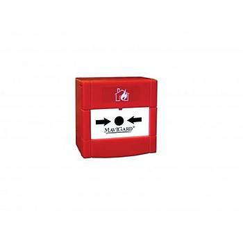 Mavili ML-1710 Maxlogic Adresli Yangýn Alarm Butonu Resetlenebilir