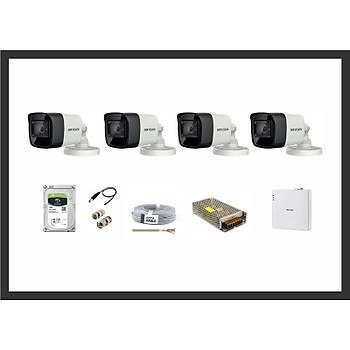 Hikvision 2MP HDTVI Ýzmir 4 Kamera Sistemleri Güvenlik Seti
