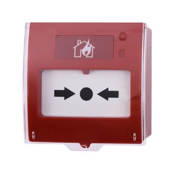 Teknim TFB-1165 Analog Adresli Tekrar Kurulabilir KIRBAS Yangýn Alarm Butonu