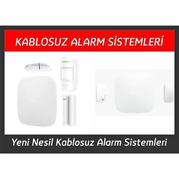 Ajax HubKit Plus Street Siren Kablosuz Alarm Sistemleri Seti