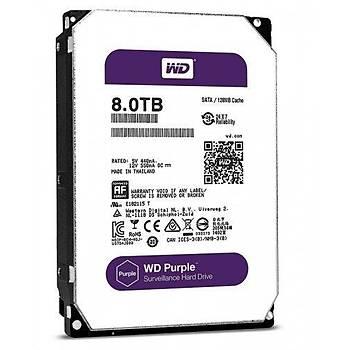 Western Digital WD80PURZ 8 TB Purple Serisi Güvenlik Hard Diski