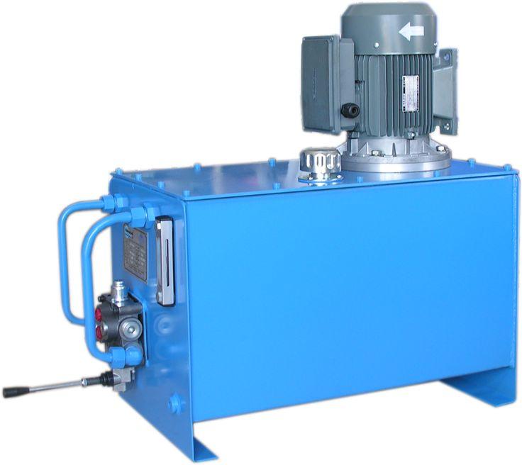 hidrolik güç ünitesi manuel kontrollü örnek