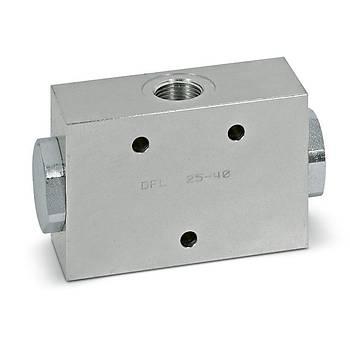 Hydropack DFL 10-20 3/8  Çelik Akış Bölücü