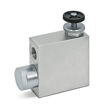Hydropack RFP 1/3 Üç Yollu Akış Kontrol Valfi