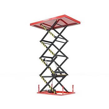 Dört Makaslý Platform (2 Ton 4200 MM)