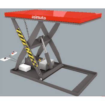 Elektirikli Platform (1 Ton 1000 MM)