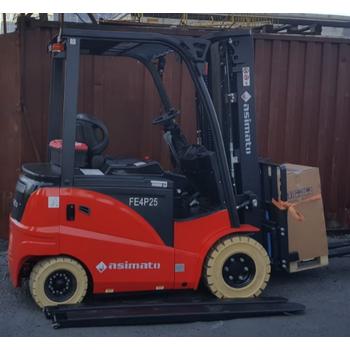 2,5 Ton 6 Metre Akülü Forklift