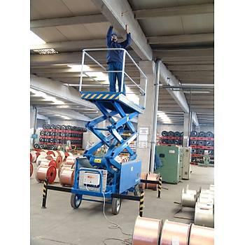 Hidrolik Makaslý Çalýþma Platform Manlift 10 Metre