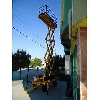 Hidrolik Makaslý Çalýþma Platform Manlift 12 Metre