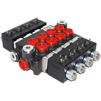 Hydropack 3P80 Üçlü Elektro Hidrolik 80 Lt Kontrol Kolu