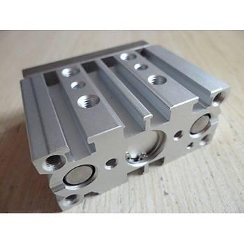 MGPM 20x20 Jelpc Üç Eksenli Yataklý Manyetik Pnömatik Silindir