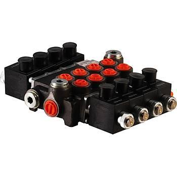 Hydropack 9ZC100ES 3/4 100Lt Elektro Hidrolik Kol Kumanda Valfi