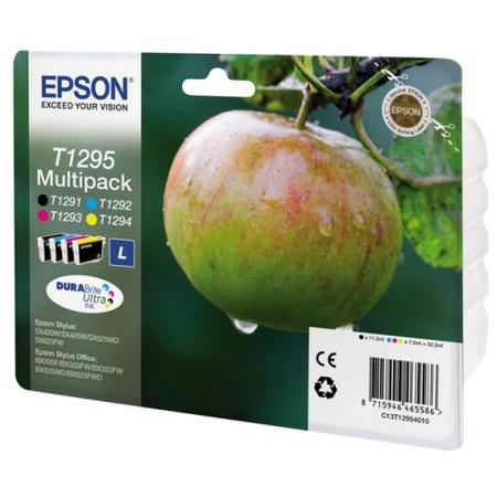 Epson T1295 Kartuþ - Epson T129540 Orjinal Multipack Kartuþ 4Lü Set