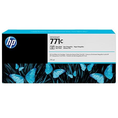 HP 771C 775 ml Fotoðraf Siyahý DesignJet Mürekkep Kartuþu
