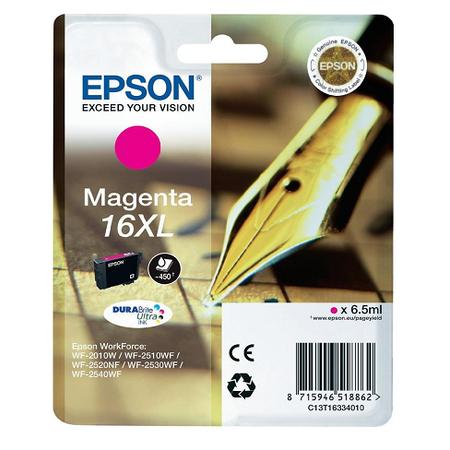 Epson 16xl Magenta - Epson 16 XL Orjinal Magenta Kartuþ