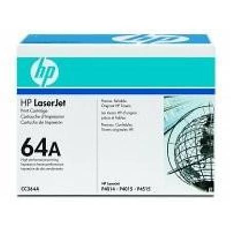 HP CC364A Black Toner Kartuþ (64A)