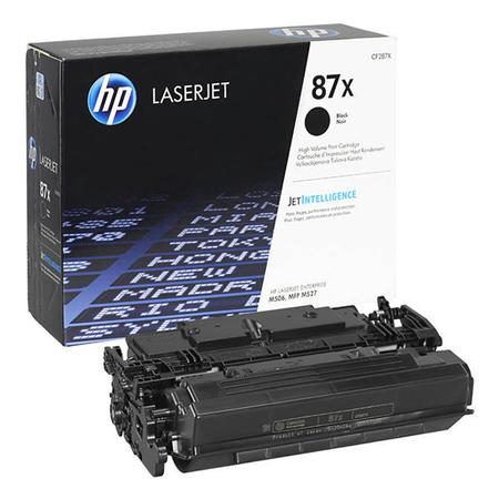HP CF287X 87X Yüksek Kapasiteli Siyah Orijinal LaserJet Toner