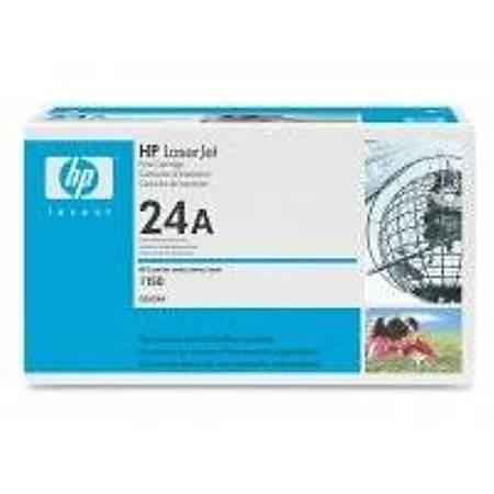 HP Q2624A Black Toner Kartuþ (24A)