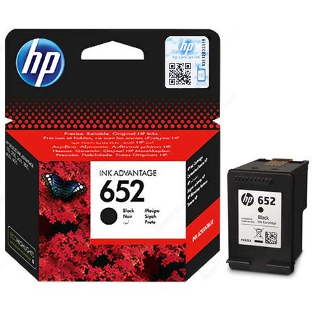 HP 652 SIYAH KARTUÞ - HP 652 F6V25A ORJINAL SIYAH KARTUS