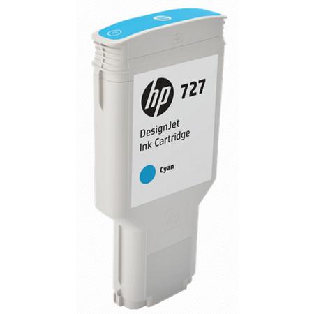 HP F9J76A 727 300ML Orjinal Mavi Kartuþ