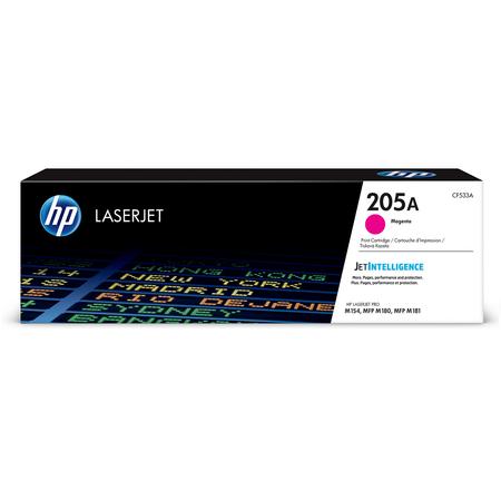HP CF533A 205A MAGENTA TONER - HP LASERJET M154 / M180N / M181FW ORJÝNAL MAGENTA TONER