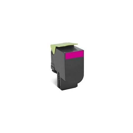 Lexmark 80C8XME Kýrmýzý Corporate Toner 4000 Sayfa