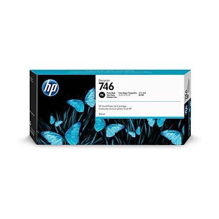 HP P2V82A 746 Orjinal Photo Black Kartuþ 300ML