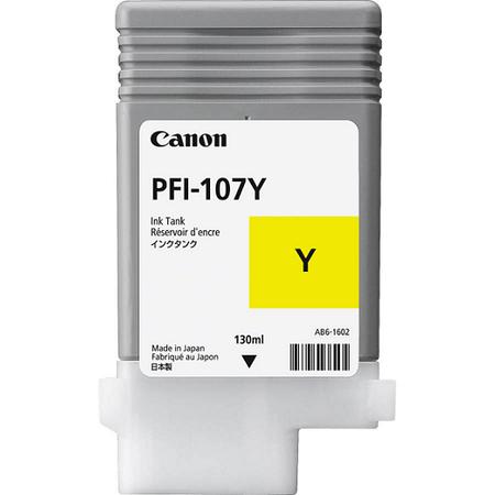 Canon PFI-107Y Sarý Kartuþ - Canon iPF680 - iPF685 - iPF780 - iPF785 Orjinal Sarý Kartuþ130ML