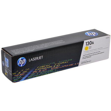 HP 130A CF352A Toner, HP ColorLaserjet Pro M176N - M177FW Orjinal Sarý Toner