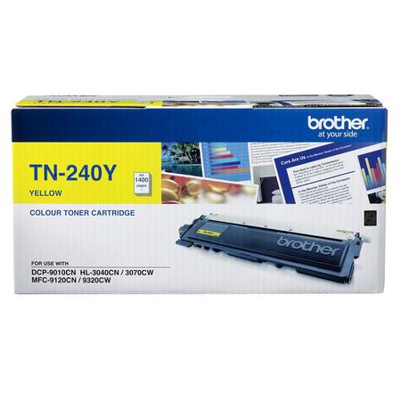 BROTHER TN-240Y - HL3040CN - HL3070CW - DCP-9010CN - MFC-9120CN - MFC-9320CW ORJINAL SARI TONER