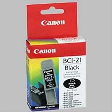 Canon BCI-21 BK Mürekkep Kartuþ