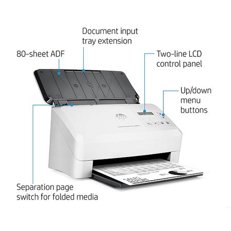 HP L2755A ScanJet Flow 5000 s4 Sheet-Feed Tarayýcý
