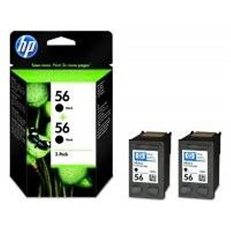 HP C9502A Black Mürekkep Kartuþ (56)