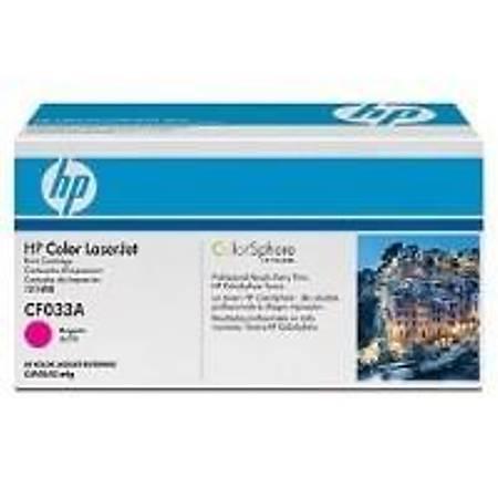 HP CF033A Magenta Toner Kartuþ (646A)