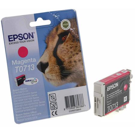 Epson T0713 Magenta Kartuþ - Epson T071340 Orjinal Magenta Kartuþ