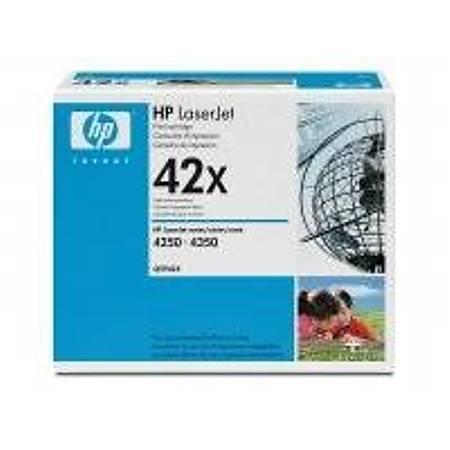 HP Q5942X Black Toner Kartuþ (42X)