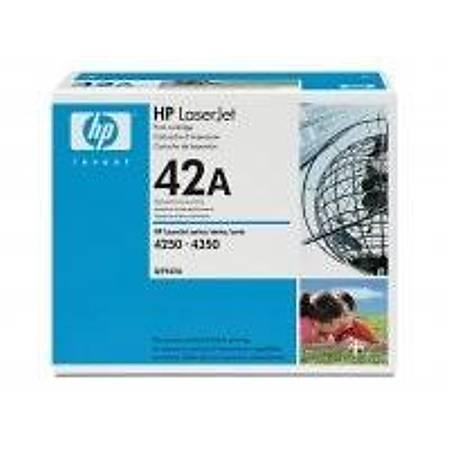 HP Q5942A Black Toner Kartuþ (42A)