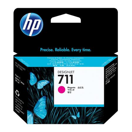 HP CZ131A 711 MAGENTA KARTUÞ - HP Designjet T120 - T520 Orjinal Magenta Kartuþ