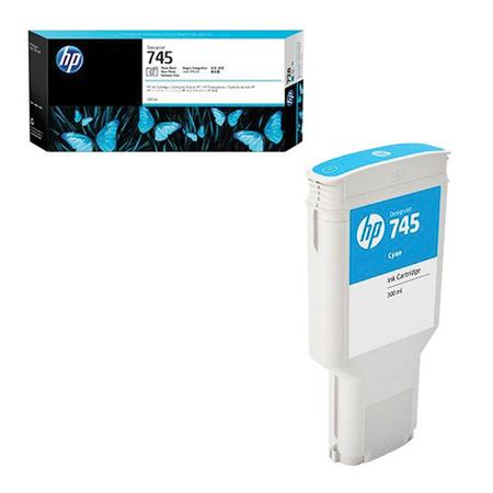 HP F9K03A 745 300Ml Cyan (Mavi) Orjinal Kartuþ