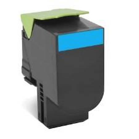 Lexmark 80C8XC0 Mavi Return Toner 4000 Sayfa