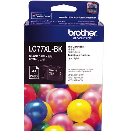 Brother LC77XL-BK Orjinal Siyah Kartuþ