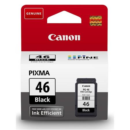 Canon PG46 - Canon PG-46 0rjinal Siyah Kartuþ