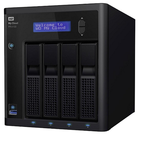 WD WDBNFA0320KBK-EESN MY CLOUD PR4100 32TB 3.5 inch