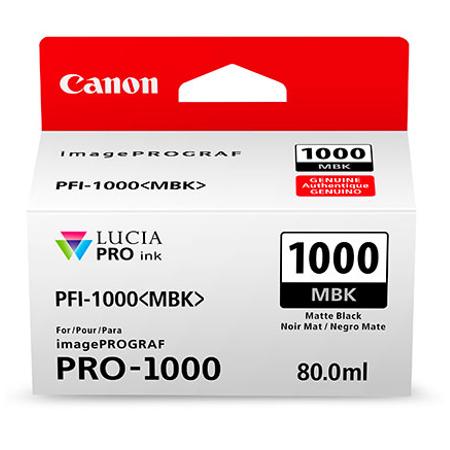 Canon PFI-1000MBK - Canon Pro-1000 Mat Siyah Kartuþ