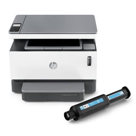 HP Neverstop Laser MFP 1200a Yazýcý , Fotokopi , Tarayýcý Dolum Tonerli 4QD21A