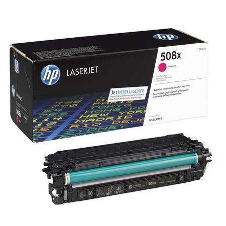HP 508X CF363X - HP LaserJet Enterprise M552 - M553 - M577 Orjinal Magenta Toner