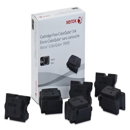 Xerox ColorQube 8900 Genuine Xerox Solid Ink Black (6 Sticks) (108R01025)