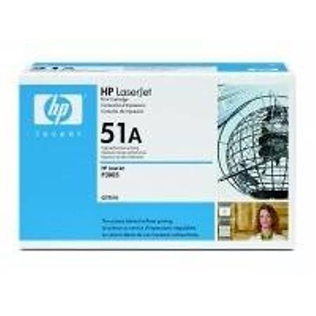 HP Q7551A Black Toner Kartuþ (51A)