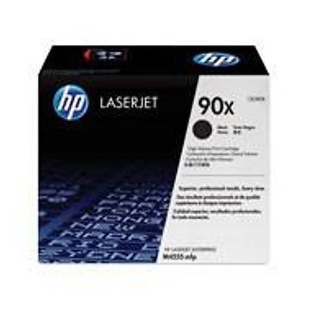 HP CE390X Black Toner Kartuþ (90X)