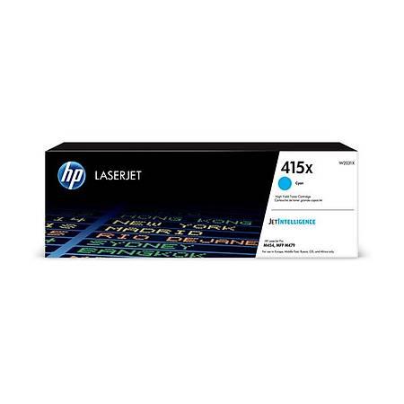 HP W2031X Cyan Toner Kartuþ (415X)